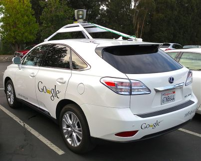 Lexus RX450h with Google's technology