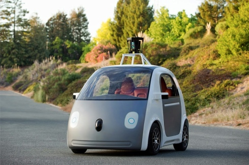 Google's newly designed Self-Driving Car Prototype (For 2014)