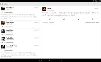 Tweet details