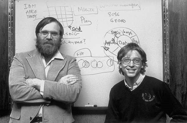 Paul Allen and Bill Gates
