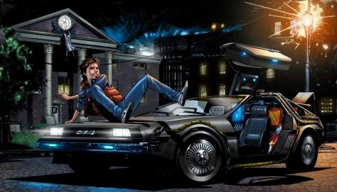 back_to_the_future_marty_mcfly_art_delorean_dmc_12_car