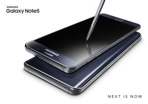 Galaxy Note5_Black Sapphire_Black_2P