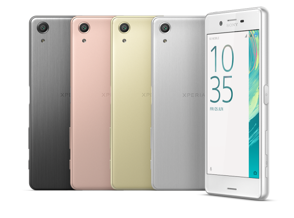 All the colours of the Xperia X Peformance