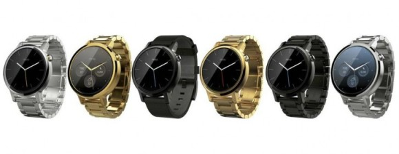 All the styles of the Moto 360 (2015) - Men's Version