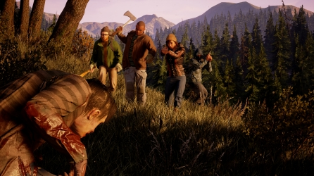 State of Decay 2 Four Player Gameplay