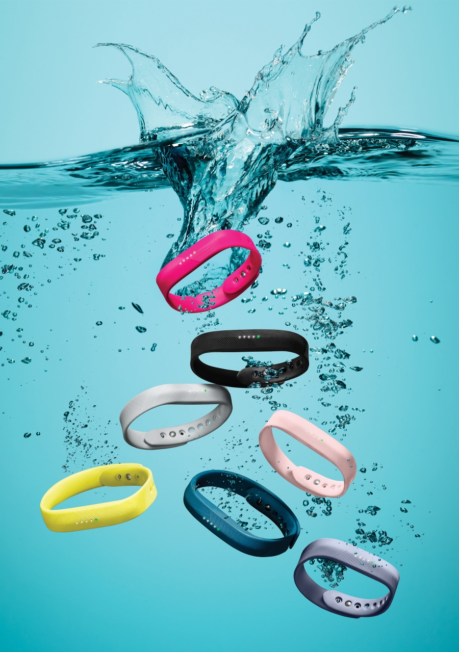 The Fitbit Flex 2 is now swim-proof.