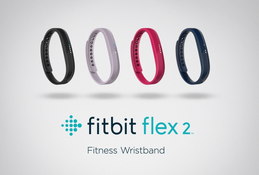 The Fitbit Flex 2 lineup.