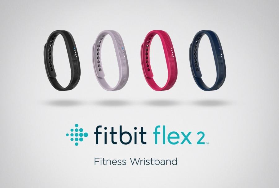 The Fitbit Flex 2 lineup.