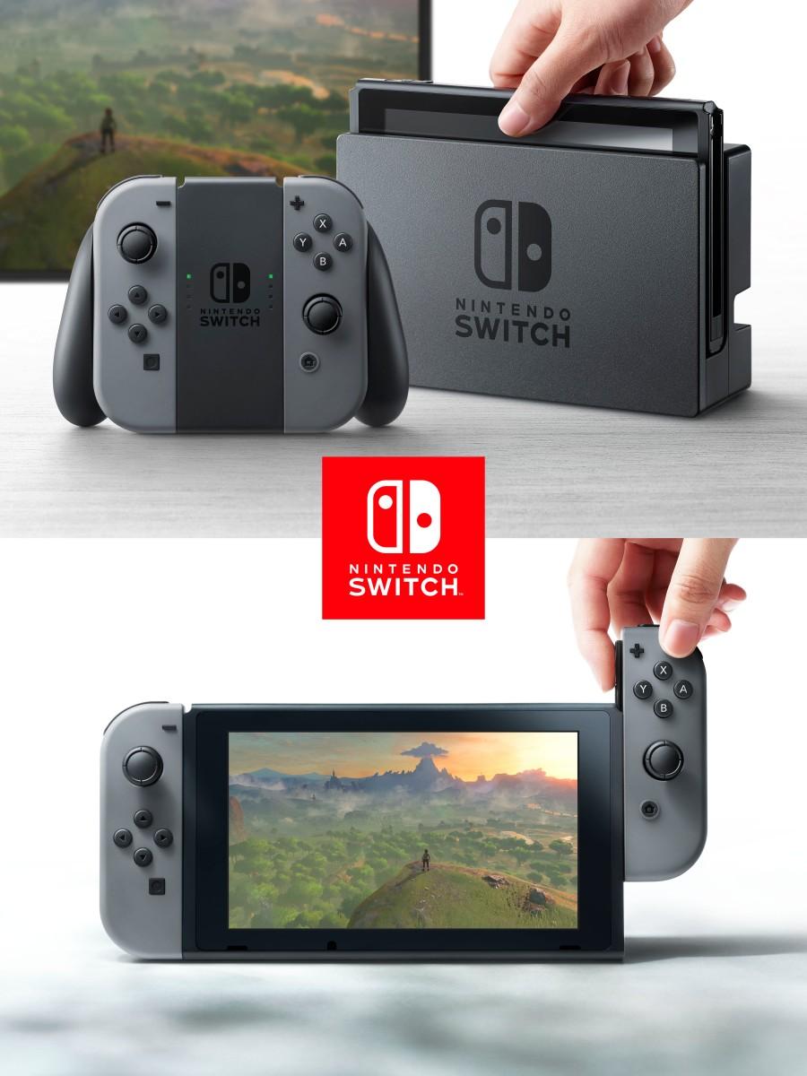 The Nintendo Switch Joy-Con controller.