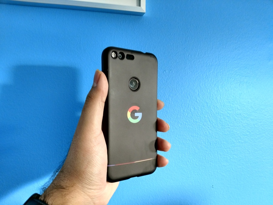 Pixel XL with Google Live Case.