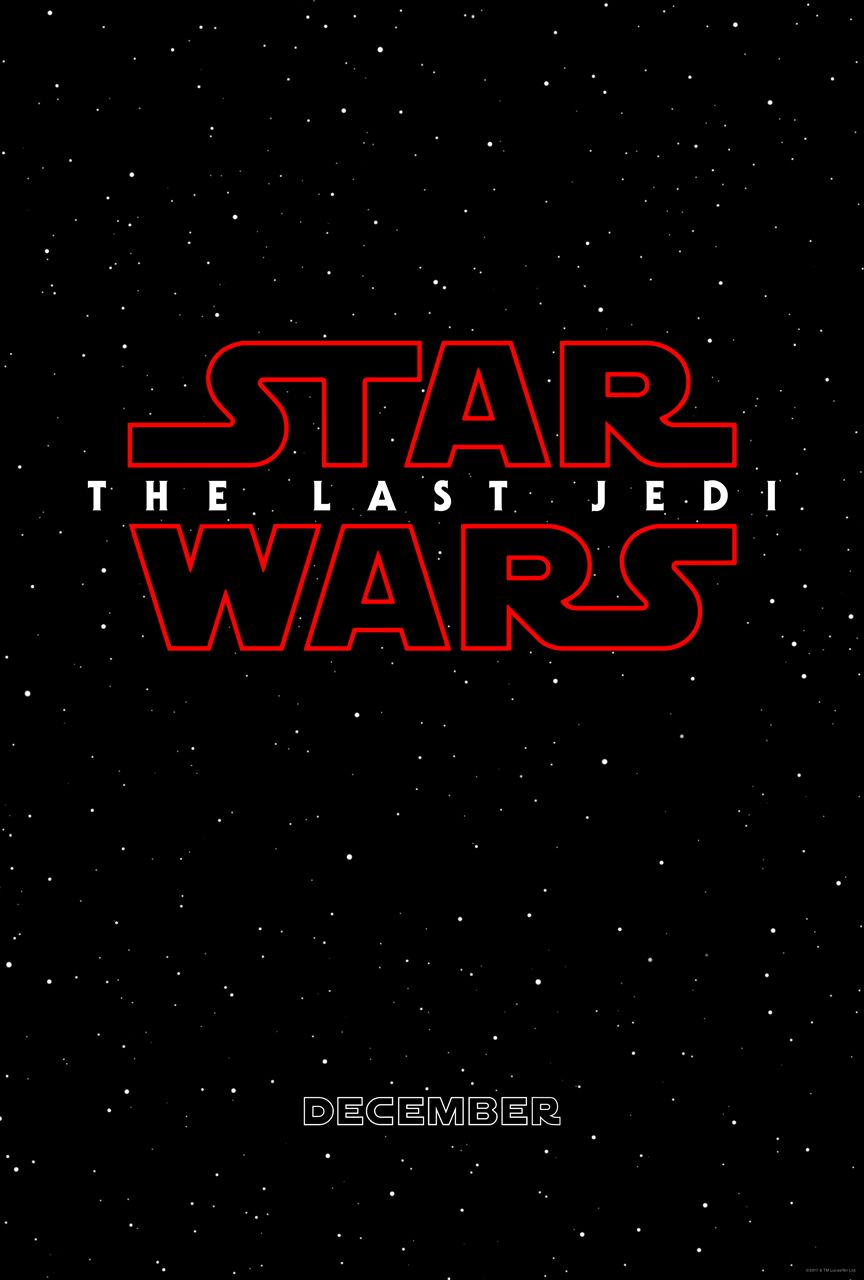 The teaser poster for Episode VIII - The Last Jedi.