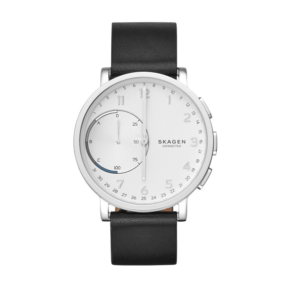 One of the other style options for the Skagen Connected Smartwatch that has numbers on the watch face.