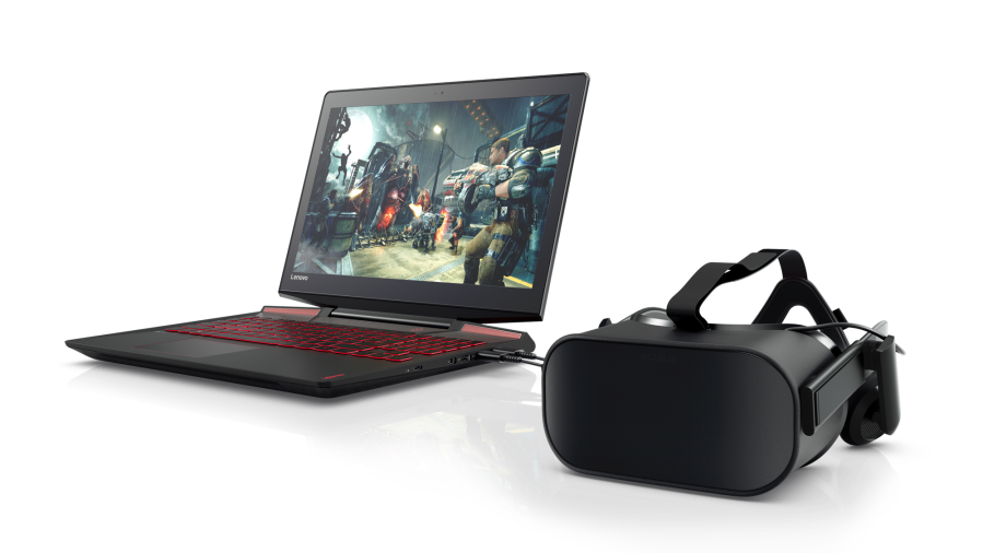 Lenovo Legion Y720 with Oculus Rift