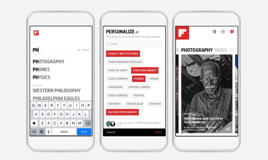 Flipboard Passion Picker