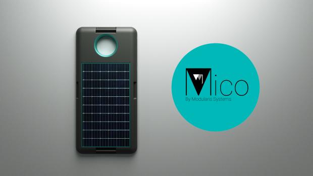 Mico - A Modular Solar Battery Moto Mod