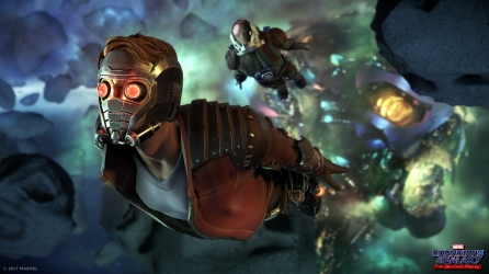 There's another name you might know me by! ...Star-Lord ... Who?