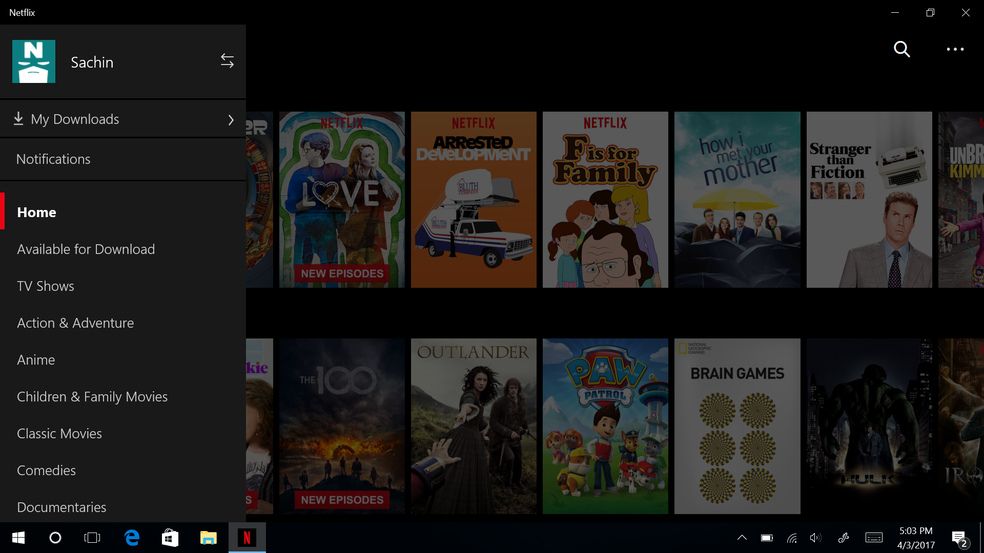 Netflix Brings Offline Viewing To Windows 10 TheCanadianTechie