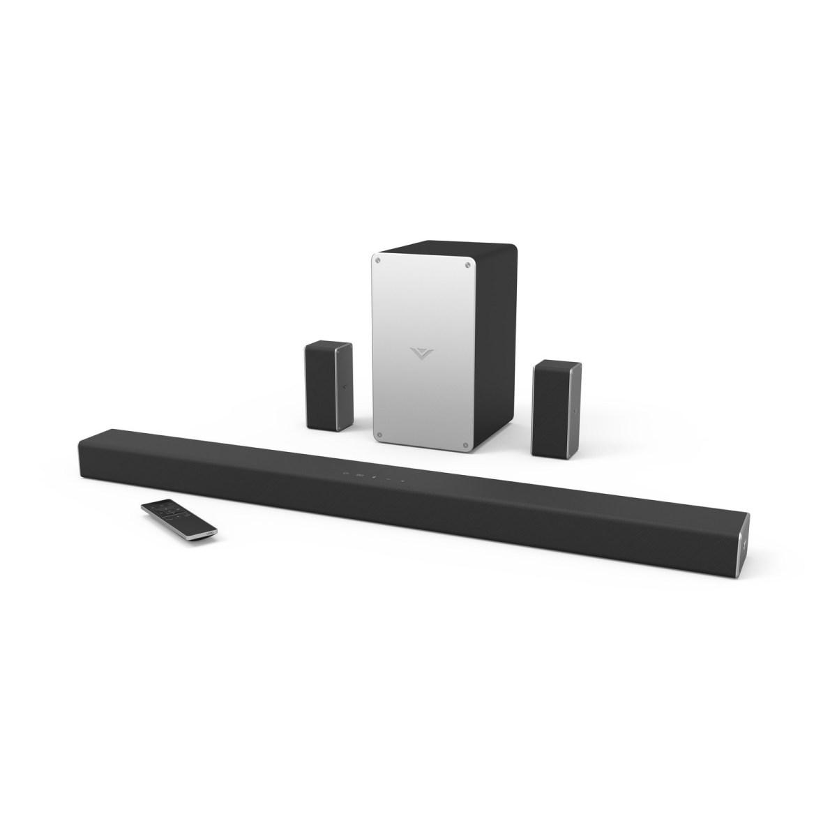 Vizio's new wireless soundbar has Chromecast built-in and ...