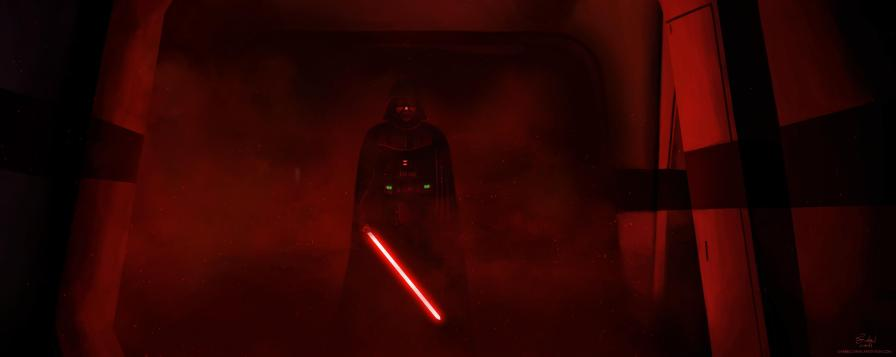 Darth Vader Lightsaber Scene from Rogue One