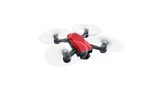DJI Spark Lava Red - Flying