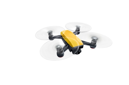 DJI Spark Sunrise Yellow - Flying