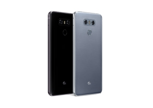 The two colour options for the LG G6.