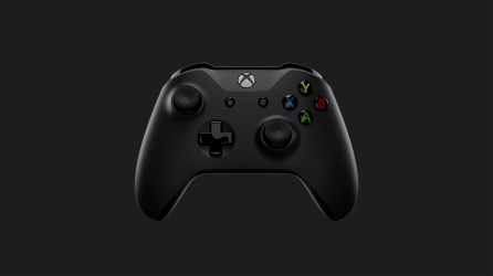 Xbox One X_Controller_Front Dark Gray