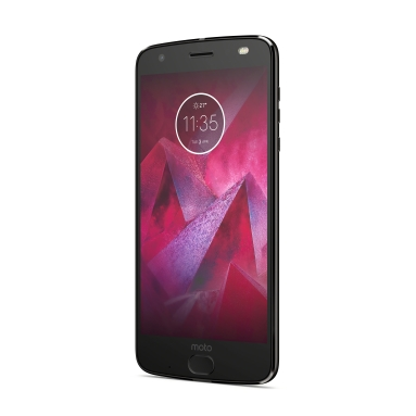 Moto Z2 Force Edition_Front Angle_Super Black