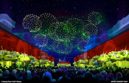 AT D23 EXPO 2017, DISNEY PARKS CHAIRMAN BOB CHAPEK ANNOUNCES PIXAR FEST COMING TO DISNEYLAND RESORT -- Starting in 2018, this limited-time offering will include a new fireworks spectacular as well as special characters and entertainment moments.