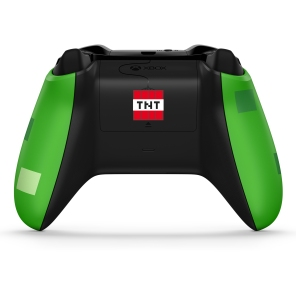 Xbox Minecraft Creeper Controller Back