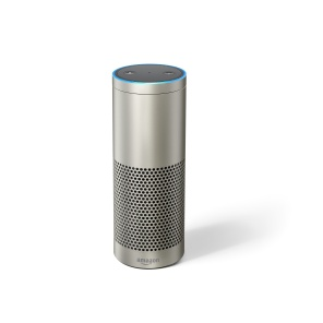 Echo Plus in silver