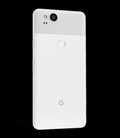 Pixel 2 in Clearly White