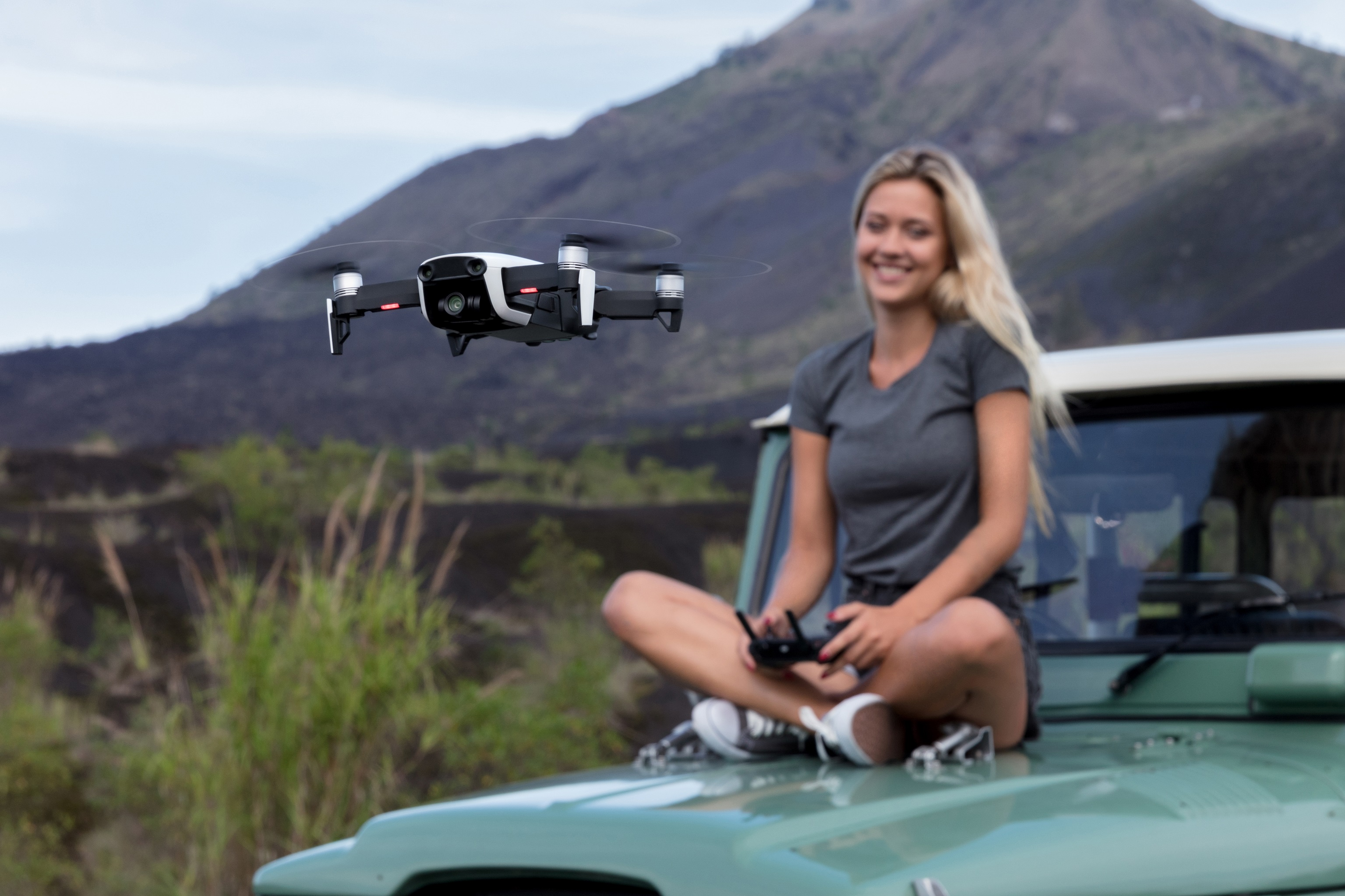 Mavic Air Jeep Web