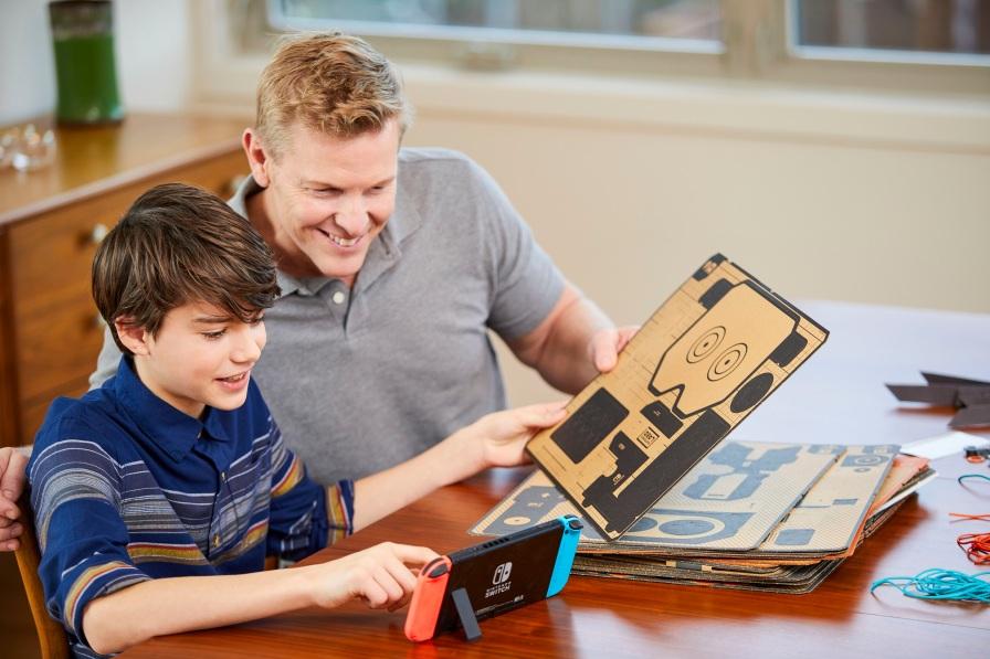 Nintendo Labo Toy-Con Robot-web