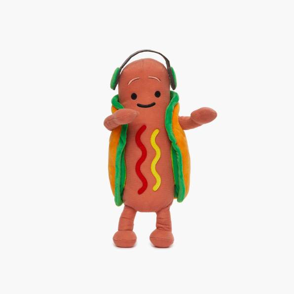 Dancing Hot Dog Plushie