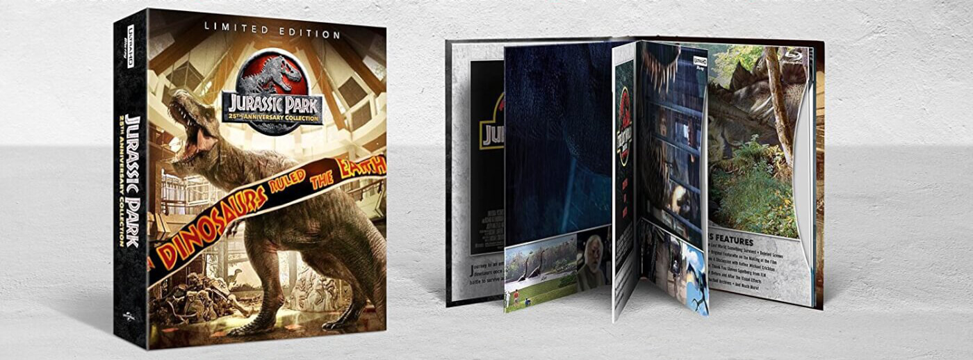 Universal Announces The Jurrassic Park 25th Anniversary Collection On Blu Ray Thecanadiantechie