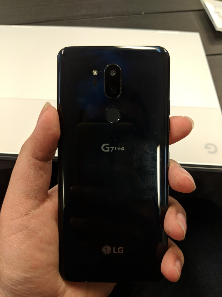 Hands-on with the LG G7 ThinQ – TheCanadianTechie