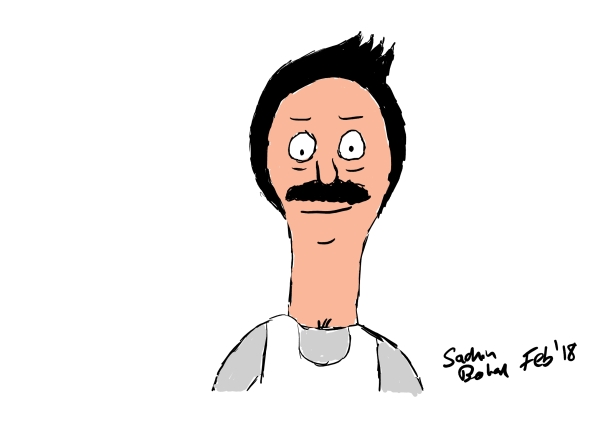 Pixelbook_Review_Sketch_Bob from Bob s Burgers