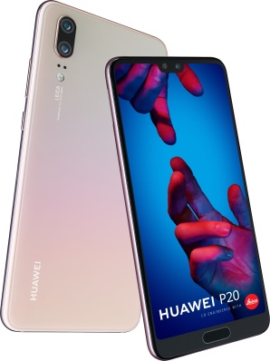 Huawei P20 in Pink Gold