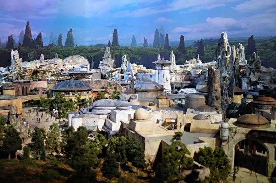 Model of Star Wars: Galaxy's Edge