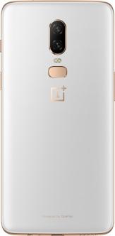 OnePlus 6 in Silk White