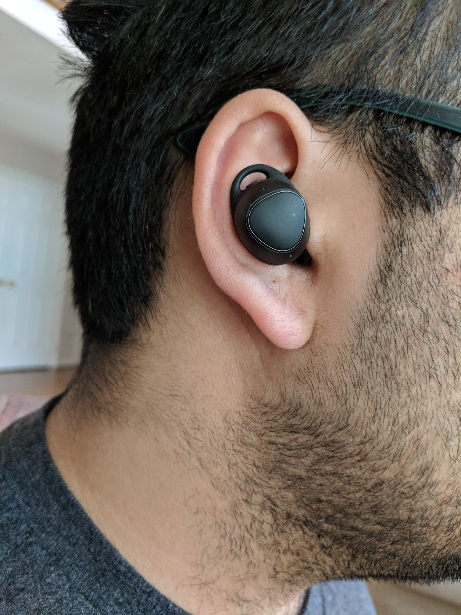 d4c531a4ab1 For the most part, the Gear IconX (2018) stayed in my ears but occasionally  they would start to slip out as I would walk with them in my ears.