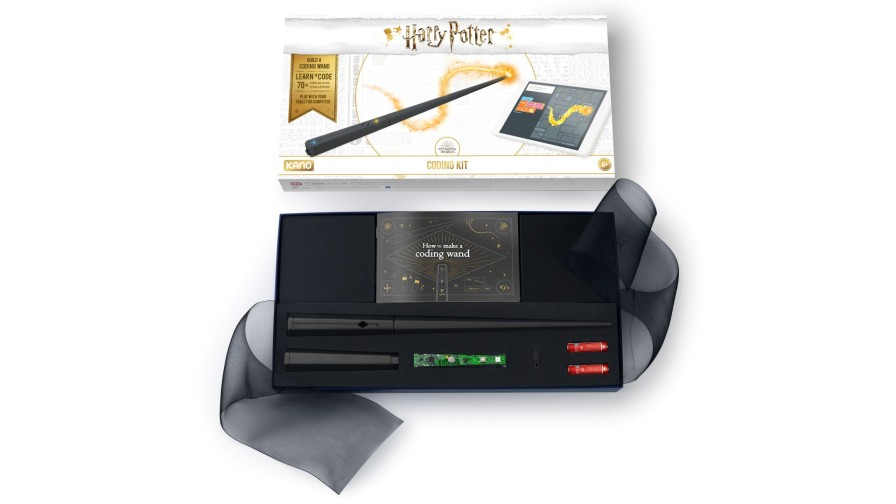 Harry Potter Kano Coding Kit-CODINGWAND-PR-BOX-OPEN (Large)