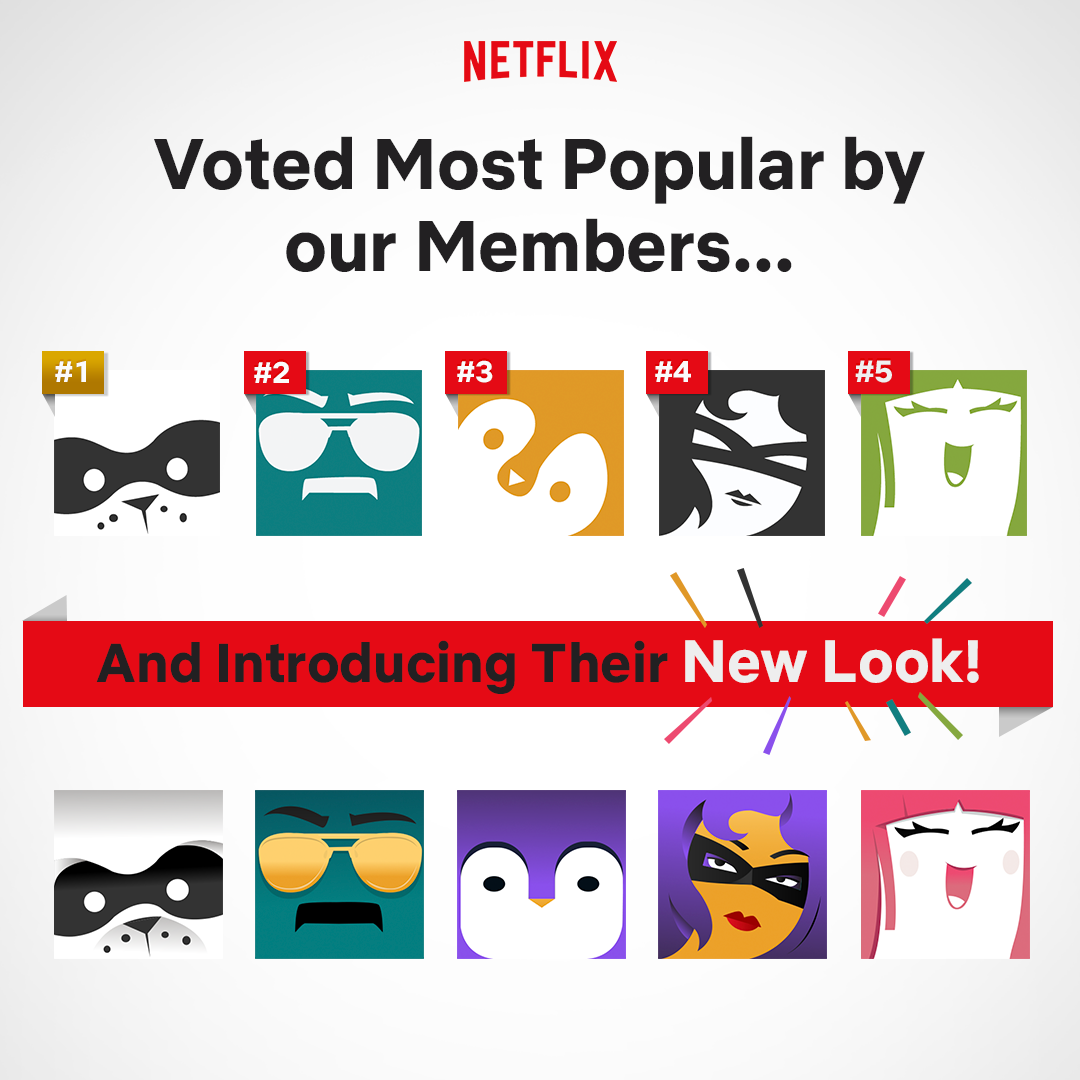 Netflix gives their profile icons a revamp – TheCanadianTechie
