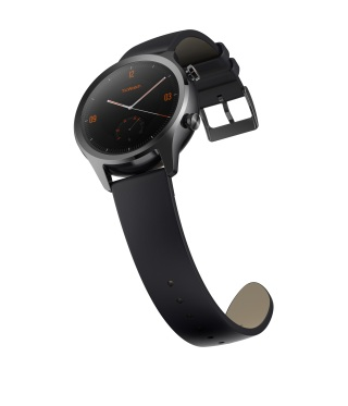 TicWatch C2 Black Side View