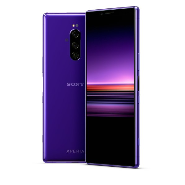 Sony Xperia 1 in Purple
