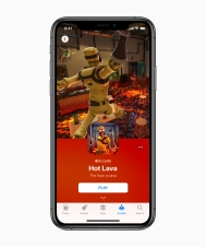 Apple-introduces-apple-arcade-hot-lava-iphone-xs-03252019