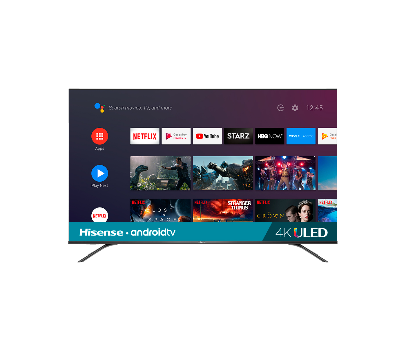 Hisense's latest TVs have 4K and are powered by Android TV