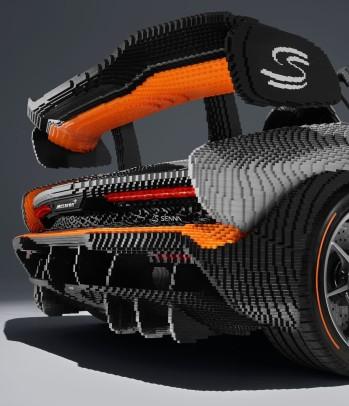 Forza Horizon 4 LEGO Speed Champions Senna Rear Key Art