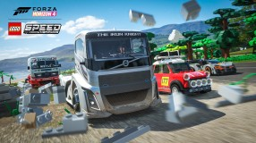 Forza Horizon 4 LEGO Speed Champions Iron Knight Smash Screenshot